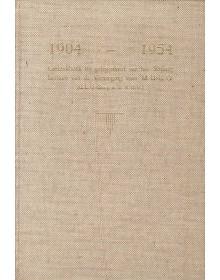 1904-1954, Gedenkboek bij gelegenheid van het 50-jarig bestaan van de Vereniging voor M.U.L.O. (Rotterdam)