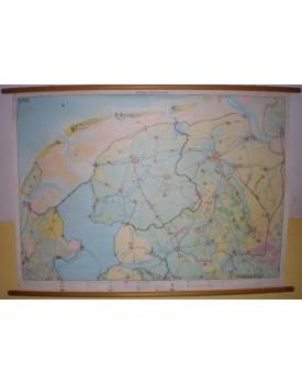 Noord-Nederland (schaal 1 : 130.000)
